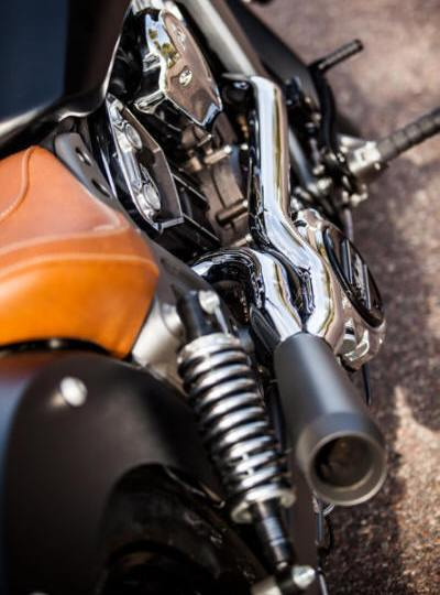 Indian Scout | Bobber | Sixty Trask 2 into 1 Hot Rod Exhaust